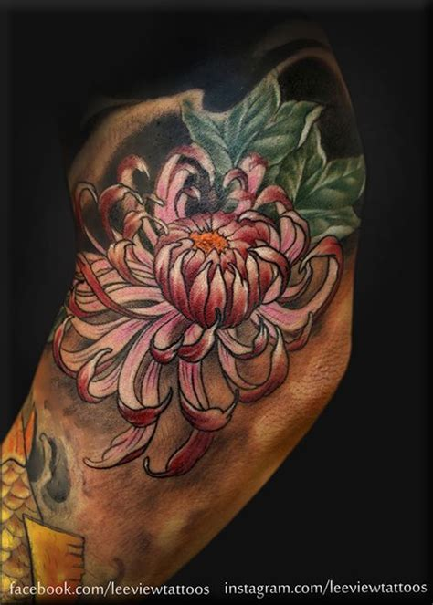 tattoo flower asian japanese flower tattoo tattoo 3 pinterest