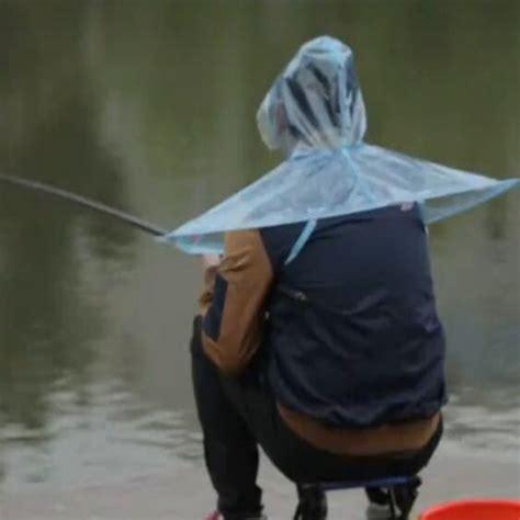 raincoat with umbrella aliexpress buy creative raincoat umbrella headwear hat fishing golf umbrella