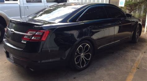 2013 ford taurus hp buy used 2013 ford taurus sho 3 5l ecoboost awd 450hp