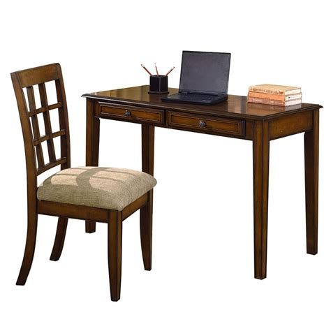 Desk And Chair by Ore International Hawthorne Home Office Desk Chair Set