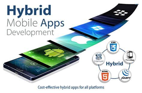 hybrid mobile application web design service provider pic n frames technologies