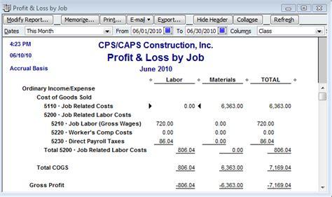 quickbooks tutorial on job costing quickbooks tip job costing starts with a simple item
