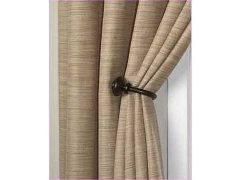 where to put holdbacks for curtains curtain holdbacks tieback hooks youtube