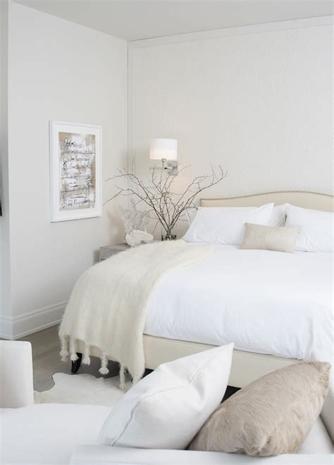 Crate And Barrel Colette Bed Calm Bedrooms Transitional Bedroom Leo Designs Chicago