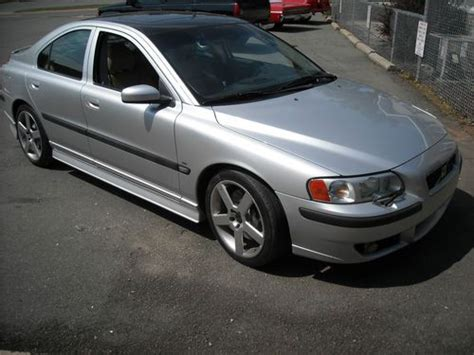 silver volvo s60r buy used 2004 volvo s60r awd bsr silver leather