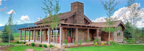 The double l ranch custom luxury cottage creekside
