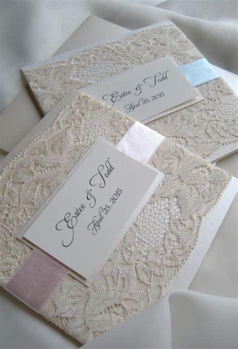 Einladungen Hochzeit Mit Spitze lace wedding invitations 2266132 weddbook