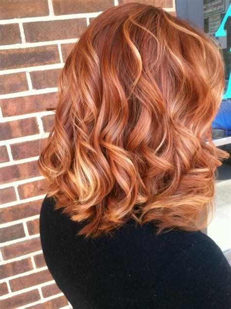 chocolate red hair on pinterest red blonde highlights good transition color between dark red and blonde hair