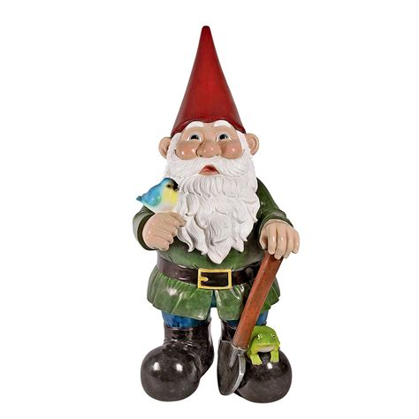 lawn gnome massive 8 5 feet tall garden gnome statue the green head