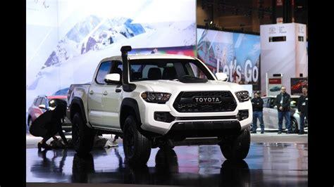 2019 toyota lineup 2019 toyota trd pro lineup 2018 chicago auto show