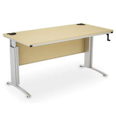 Height Adjustable Office Desk by D3k Height Adjustable Desk Wave Office Ltd