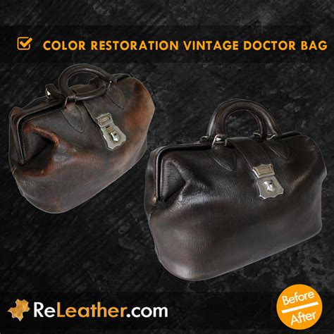 leather color restoration leather cleaning color restoration dyeing briefcases