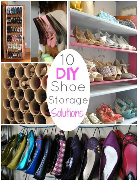 ideas for shoe storage diy up 10 diy shoe storage solutions diy