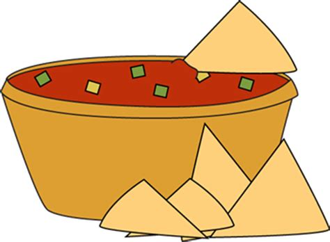 salsa clipart chips and salsa clip chips and salsa image