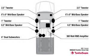 2005 current frontier 380w premium 10 speaker system rockford fosgate 174