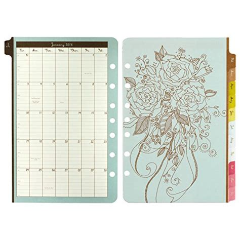 daily doodle calendar 2015 daytimer doodle daily planner refill 2016 5 5 x 8 5