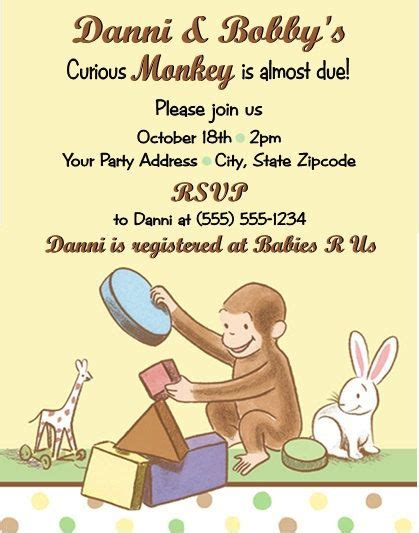 Desmond Howard Invites A Murderer To His Celebration by 1000 Ideas About Curious George Invitations On