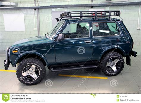 lada con timer vaz lada niva 4x4 jeep editorial stock photo image of