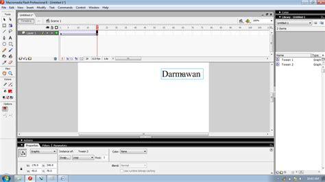 membuat tulisan bergerak di html cara membuat tulisan bergerak di macromedia flash ode s blog