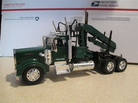 new kenworth models new ray kenworth w 900 semi tractor log loader diecast 1