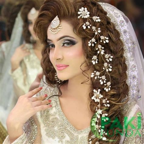 engagement hairstyles pakistani images best pakistani bridal hairstyles bridal wedding