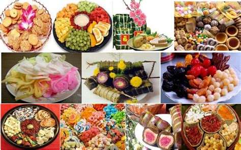 new year special foods tet nguyen dan special festival for