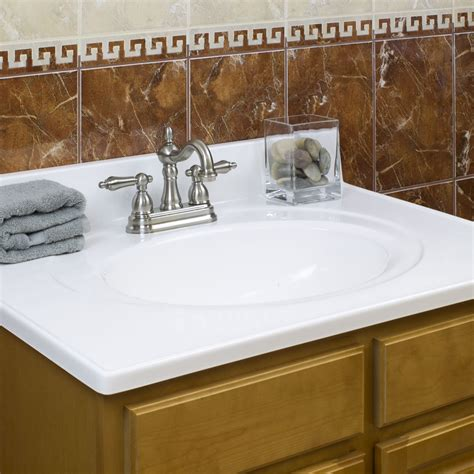 cultured marble vanity top with seamless backsplash for 36