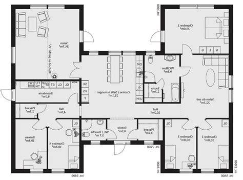 Maison Ideale Plan by Plan Maison Plain Pied 140m2 Awesome Plan Maison
