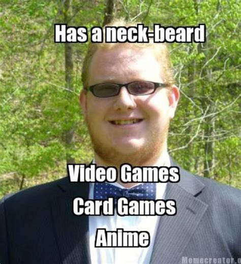 Neckbeard Meme - image 519413 neckbeard know your meme