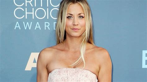what color does kaley cuocao use in her hair big bang theory star kaley cuoco says she dumped really