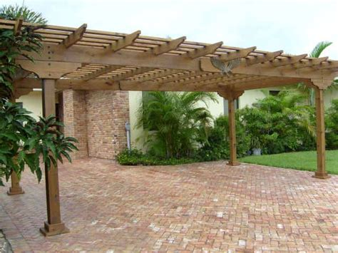 Pergola Style Carport by 17 Best Images About Garage Pergola On Carport