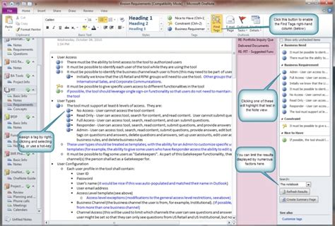 onenote template project management onenote project management template shatterlion info