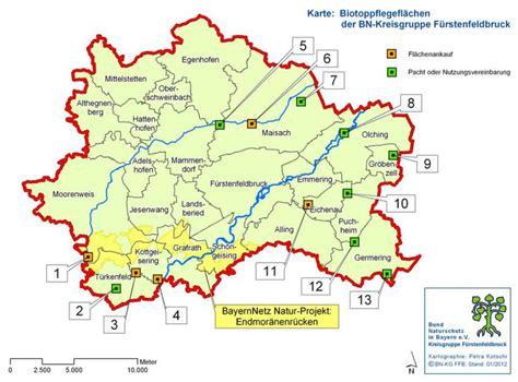 gr ne karte ev arten biotope bund naturschutz in bayern e v