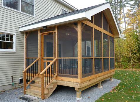 diy screened  porch learn   screen   porch