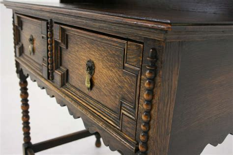 Antique Scottish Petite Oak Welsh Dresser Buffet And Antique Buffets And Hutches