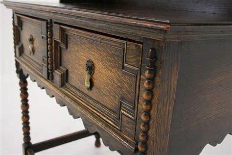 antique scottish petite oak welsh dresser buffet and