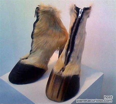 imagenes zapatillas raras curioso par de zapatillas con forma de pezu 241 as de caballo