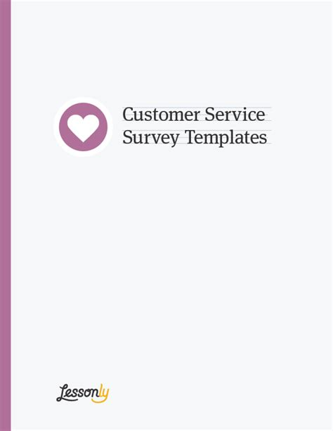 customer service manual template free customer service survey templates lessonly