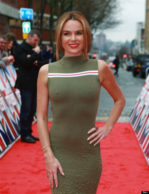 Amanda Holden Wardrobe by Amanda Holden Suffers Embarrassing Wardrobe After Going Braless At Britain S Got