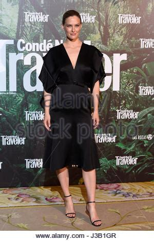 Models On Parade At Awards In Madrid by Madrid Spain May 04 Bar Refaeli Attends The Conde Nast