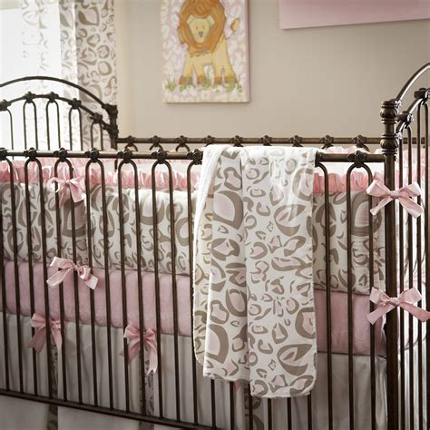 leopard crib bedding cheetah baby bedding myideasbedroom com