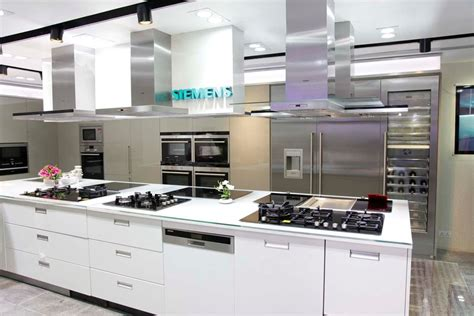 kitchen appliances store kitchen solutions siemens home appliances has opened an