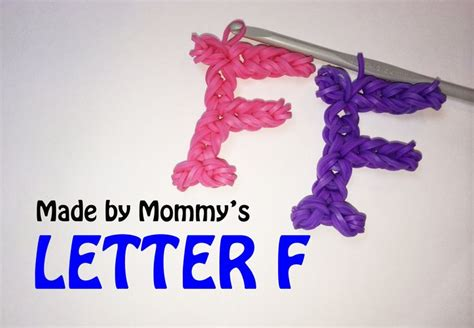 Loom Letter M by The 12 Best Images About Rainbow Loom Band Alphabet On