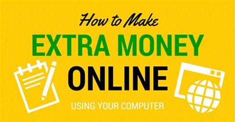 How To Make Extra Money Online - how to make extra money online from home