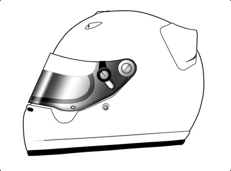Helmet Template graphix by jim custom painted helmet