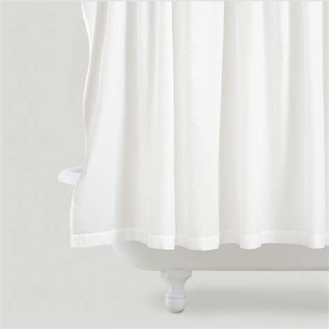 pintuck curtains white pintuck shower curtain world market