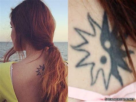 ying tattoo instagram marzia bisognin sun yin yang upper back tattoo steal