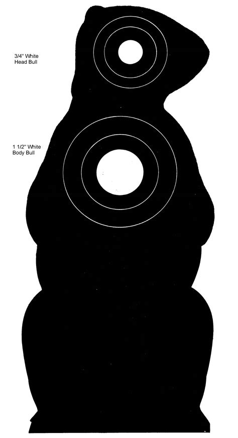 printable chipmunk targets index of targets animals and silhouettes