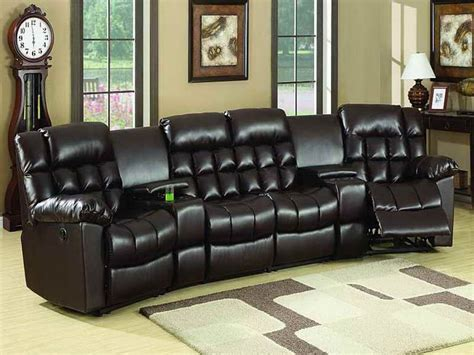 contemporary ashley furniture theater seating sectional