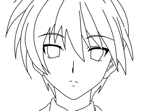 Awesome Anime Characters Coloring Pages For Kids Coloring Pages Of Anime Characters
